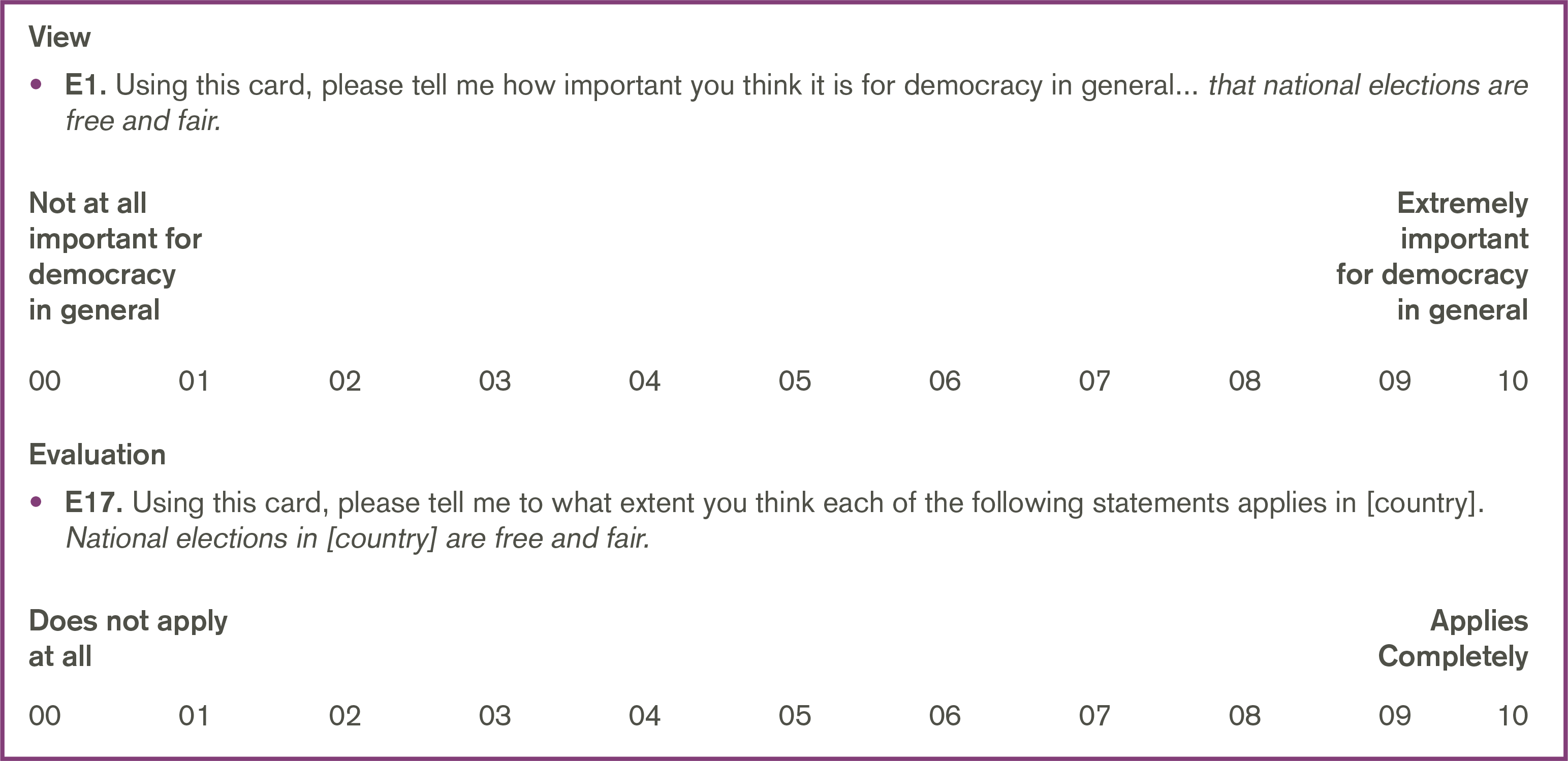 The Three Legitimacy Scales Are Based On An Empirical Classification Of Respondents Views